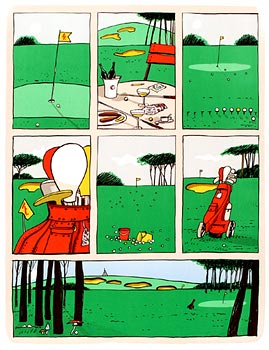 GOLF COMICS - Click here for bigger picture