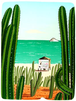 PLAYA CARIBE - CACTUSES - Click here for bigger picture