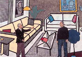 LEO CASTELLI AND ROY LICHTENSTEIN - Click here for bigger picture