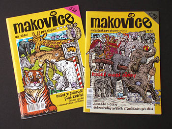 "ILLUSTRATION FOR COVER OF MAGAZINE ""MAKOVICE"" - Click here for bigger picture"