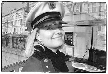 PRAGUE APRIL 99 – SHE WAS VERY LOVABLE - Click here for bigger picture