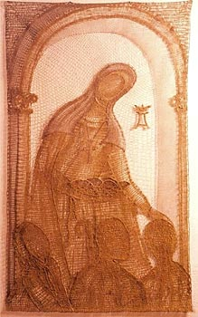SAINT AGNES OF BOHEMIA - Click here for bigger picture